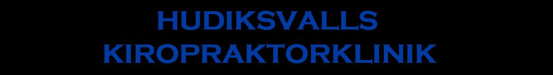 Hudiksvalls Kiropraktorklinik