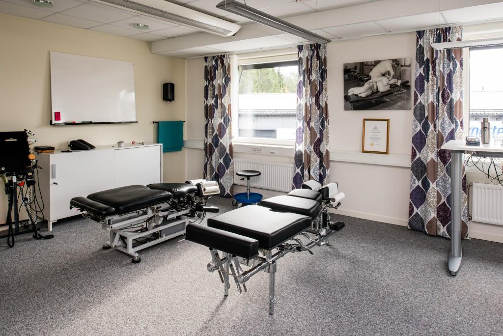 Behandlingsrum bänk